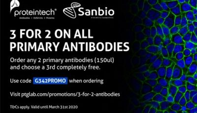 3 for 2 on all primary antibodies