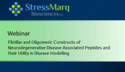 Webinar: Fibrillar and Oligomeric Constructs of Neurodegenerative Disease Associated Peptides and their Utility in Disease Modelling