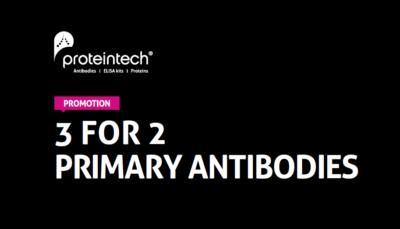 3 for 2 primary antibodies